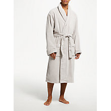Buy John Lewis Velour Luxury Cotton Bathrobe Online at johnlewis.com