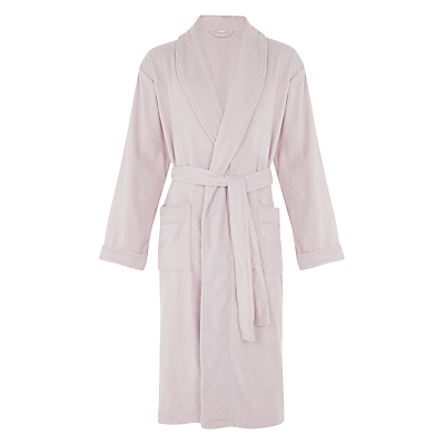 John Lewis Velour Luxury Cotton Bathrobe