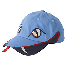 Buy Fat Face Children's Snake Cap Hat, Blue Online at johnlewis.com