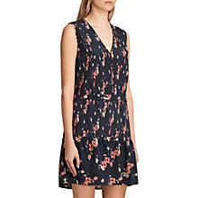 Buy AllSaints Lina Kirsch Dress, Ink Blue Online at johnlewis.com
