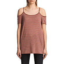Buy AllSaints Tyra Stripe Top Online at johnlewis.com