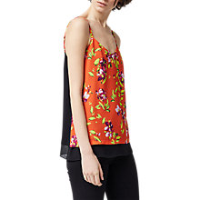 Buy Warehouse Climbing Azalea Print Cami, Multi Online at johnlewis.com