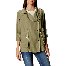 Buy Karen Millen Soft Military Jacket Online at johnlewis.com