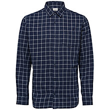 Buy Selected Homme Onebanks Shirt, Blue Nights Online at johnlewis.com
