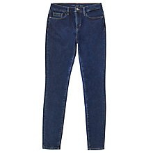 Buy Calvin Klein High Rise Skinny Jeans, Bice Blue Online at johnlewis.com