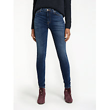 Buy Lee Scarlett High Waist Skinny Jeans, Yankee Blue Online at johnlewis.com