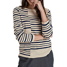 Buy Seasalt Composition Jumper, Replica Night Online at johnlewis.com