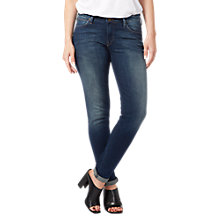 Buy Lee Scarlett Regular Waist Skinny Jeans, Mean Streaks Online at johnlewis.com