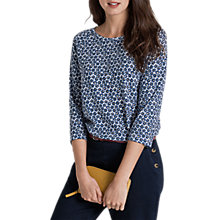 Buy Seasalt Redon Top, Sennen Daisy Ecru Online at johnlewis.com