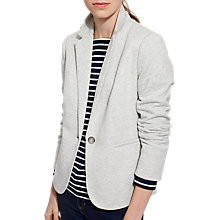 Buy Joules Olivia Jersey Tweed Blazer, Grey Marl Online at johnlewis.com