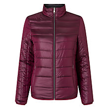 Buy Calvin Klein Oralie Reversible Padded Jacket, Fig Online at johnlewis.com
