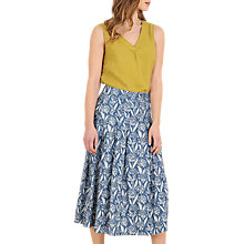 Buy Seasalt Jamboree Skirt, Garlic Belle Indigo Online at johnlewis.com