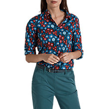 Buy Seasalt Larissa Shirt, Pen Mark Floral Night Online at johnlewis.com