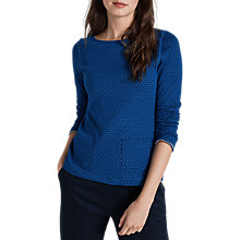 Buy Seasalt Perennial Top, Double Sapphire Online at johnlewis.com