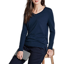 Buy Seasalt Plunge Pool Jumper, Sapphire Online at johnlewis.com