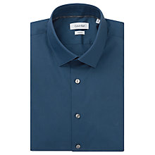 Buy Calvin Klein Stretch Poplin Slim Fit Shirt Online at johnlewis.com