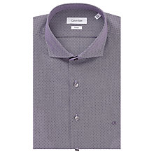 Buy Calvin Klein Rome Fitted Easy Iron Shirt Online at johnlewis.com