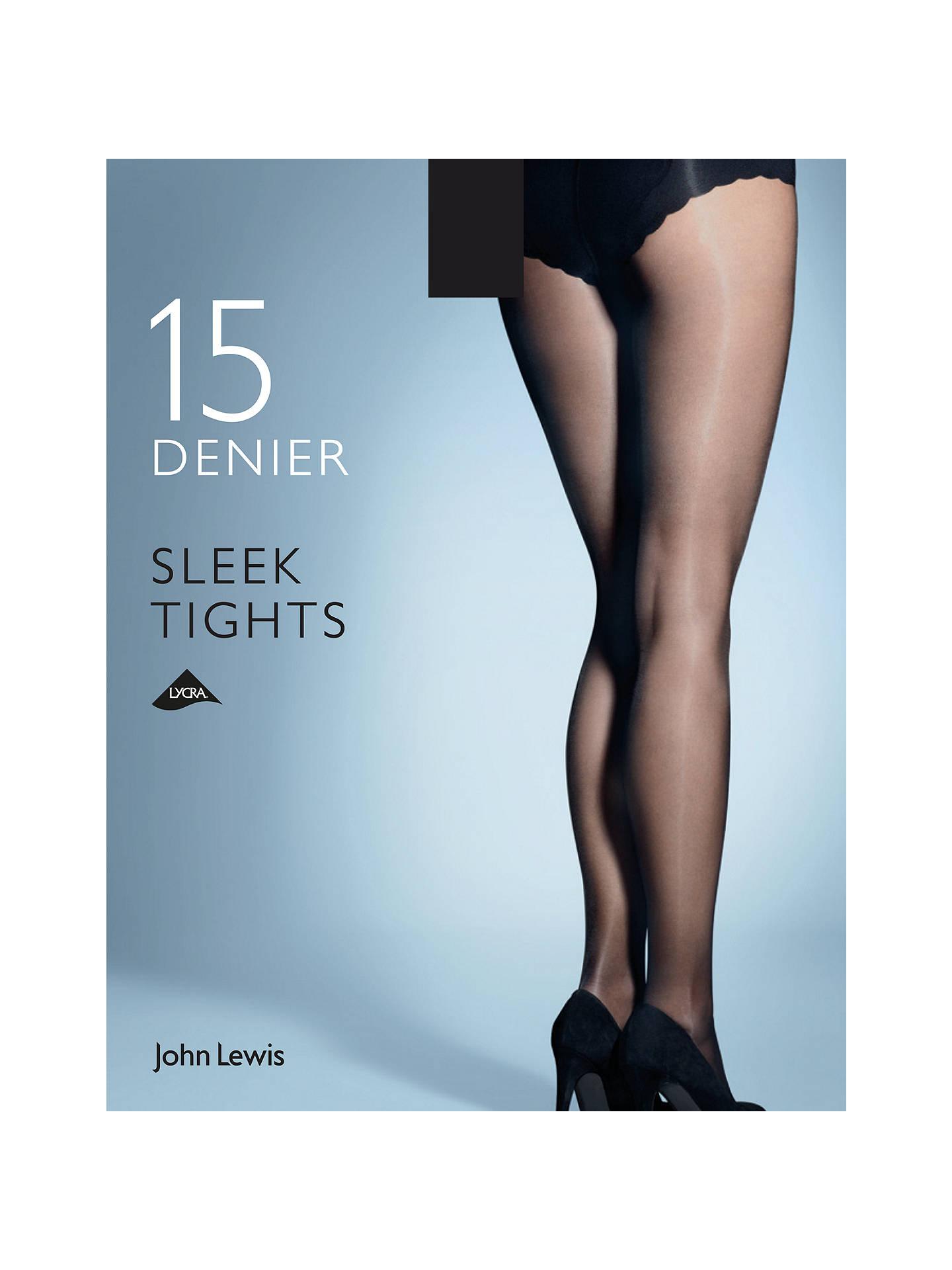 d24a533cc35 Buy John Lewis   Partners 15 Denier Sleek Tights