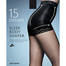 Buy John Lewis 15 Denier Sleek Body Shaper Tights, Pack of 1 Online at johnlewis.com