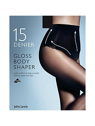 d28d5b86ab9 John Lewis   Partners 15 Denier Gloss Body Shaper Tights
