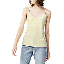 Buy Warehouse Crushed Velvet Cami Online at johnlewis.com