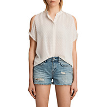 Buy AllSaints Irie Shirt Online at johnlewis.com