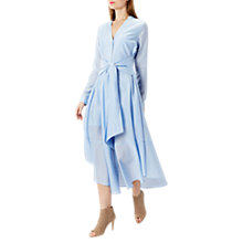 Buy Coast Torrington Shirt Dress, Pale Blue Online at johnlewis.com