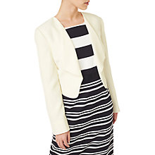 Buy Precis Petite Waterfall Jacket, Ivory Online at johnlewis.com