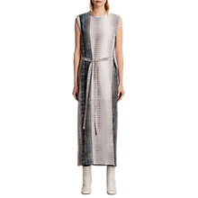 Buy AllSaints Dahl Dusk Dress, Pink Online at johnlewis.com