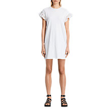 Buy AllSaints Trixi Ruffle Dress Online at johnlewis.com
