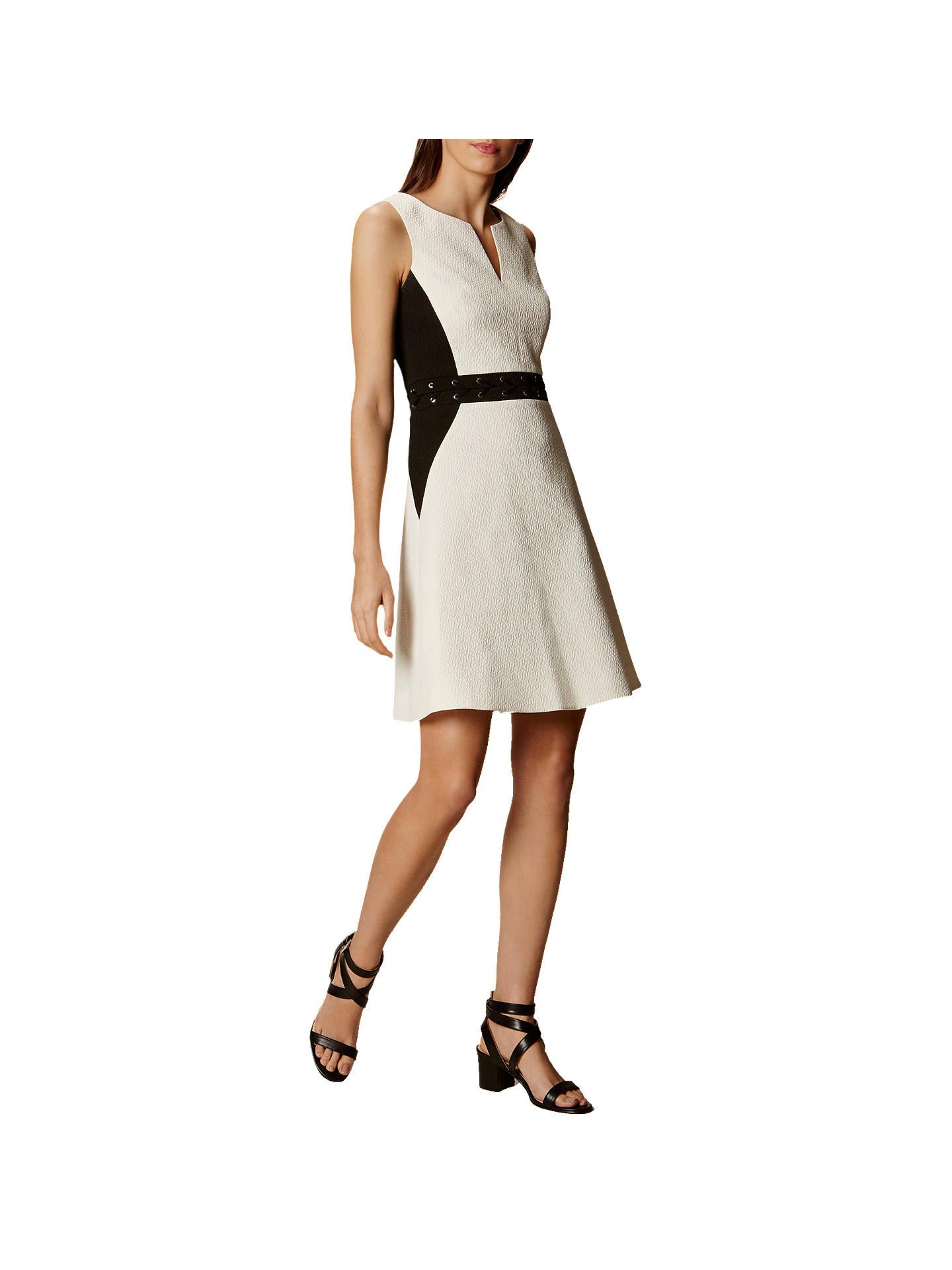 a0e4f55c012 Buy Karen Millen Textured Eyelet Dress