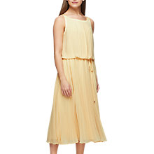 Buy Jacques Vert Plisse Dress, Blush Pink Online at johnlewis.com