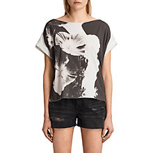 Buy AllSaints Reality Pina, Chalk White Online at johnlewis.com