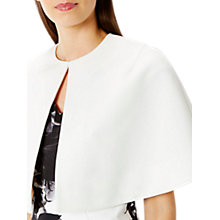 Buy Coast Lynn Crop Cape Jacket, Ivory Online at johnlewis.com