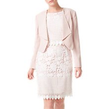 Buy Precis Petite Waterfall Jacket, Pale Pink Online at johnlewis.com