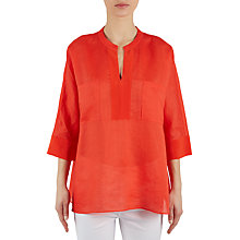 Buy Gerard Darel Cardamone Blouse, Red Online at johnlewis.com