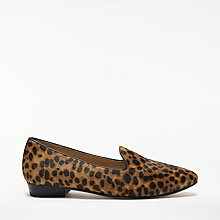Buy John Lewis Ginny Loafers, Leopard Online at johnlewis.com