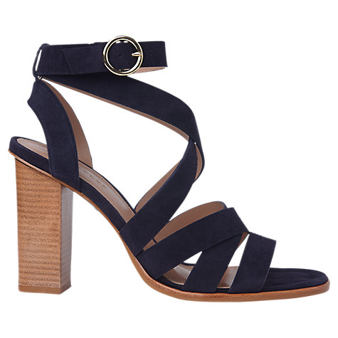 Buy Whistles Ivor Crossover Block Heeled Sandals Online at johnlewis.com