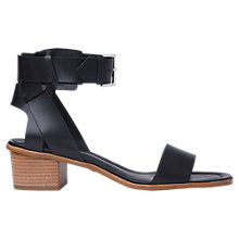 Buy Whistles Lennox Cuff Block Heeled Sandals Online at johnlewis.com