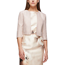 Buy Jacques Vert Shantung Bolero, Mid Neutral Online at johnlewis.com