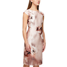 Buy Jacques Vert Printed Shantung Dress, Multi Cream Online at johnlewis.com