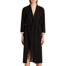 Buy AllSaints Sandra Mac, Ink Blue Online at johnlewis.com