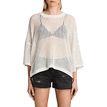 Buy AllSaints Crosby Cropped Jumper Online at johnlewis.com