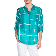 Buy East Feliz Shibori Silk Shirt Online at johnlewis.com