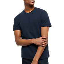 Buy Jaeger Ribbed Cotton T-Shirt Online at johnlewis.com