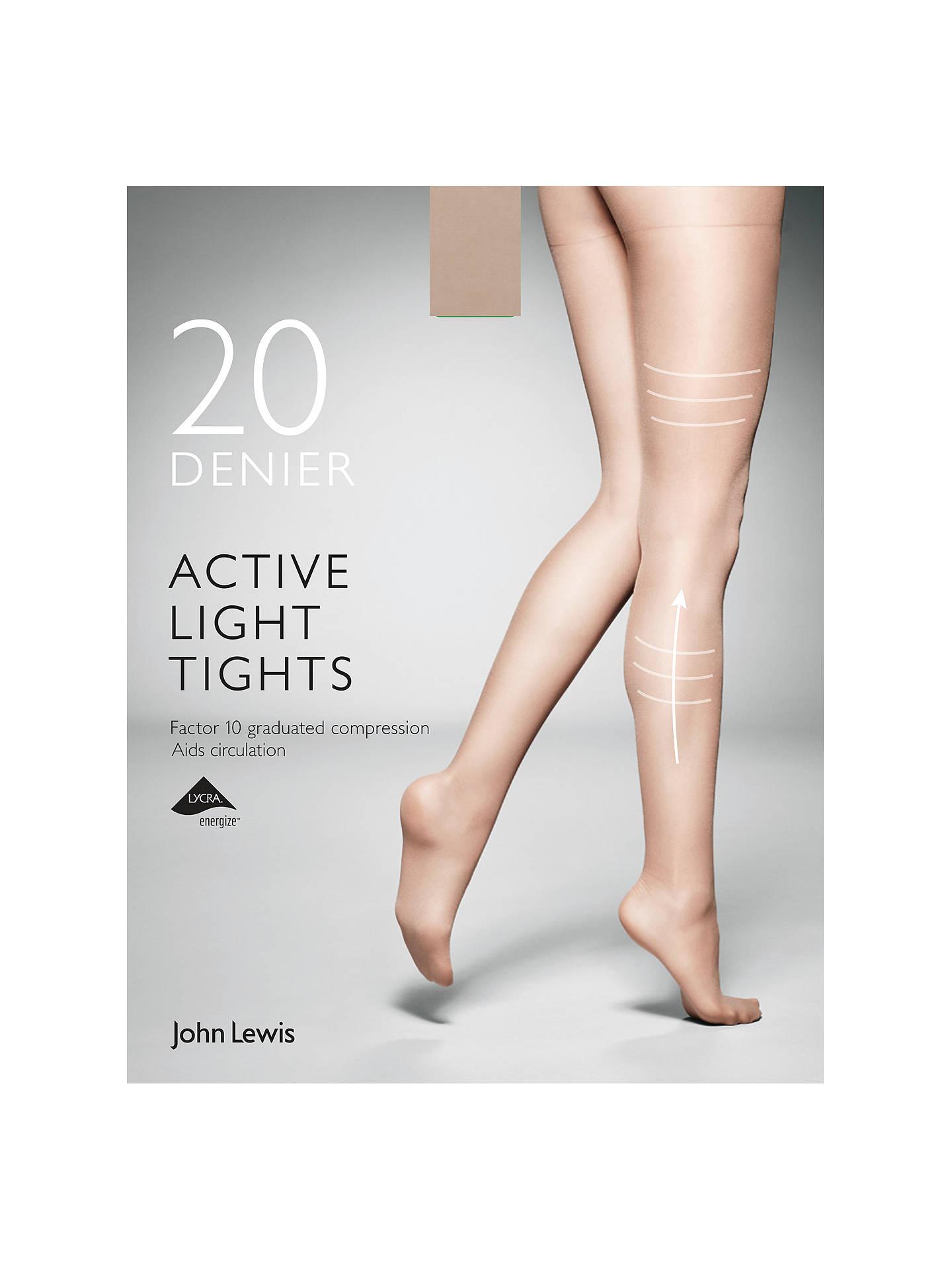 3b33d680c Buy John Lewis   Partners 20 Denier Firm Support Active Light Sheer Tights