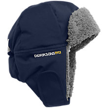 Buy Didriksons Children's Biggles Trapper Hat, Navy Online at johnlewis.com