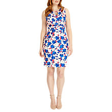 Buy Studio 8 Lorelai Floral Print Dress, Blue Online at johnlewis.com