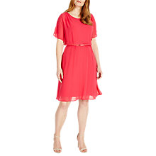 Buy Studio 8 Elaine Dress, Hot Pink Online at johnlewis.com