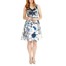 Buy Studio 8 Antonia Abstract Floral Print Dress, Multi Online at johnlewis.com